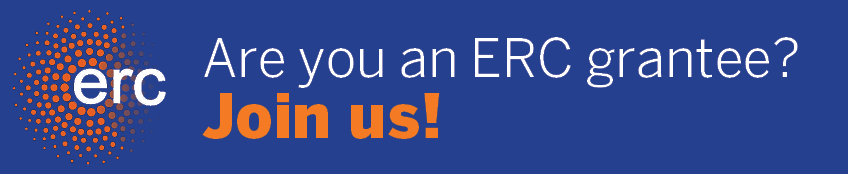 Are you an ERC grantee? Join us!