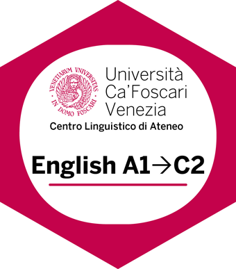 Università Ca' Foscari Venezia, Centro Linguistico di Ateneo. English A1-C2