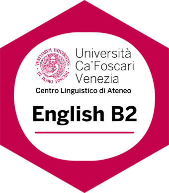 Università Ca' Foscari Venezia, Centro linguistico di Ateneo. English B2