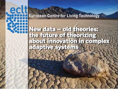 New data – old theories: the future of theorizing about innovation in complex adaptive systems cover