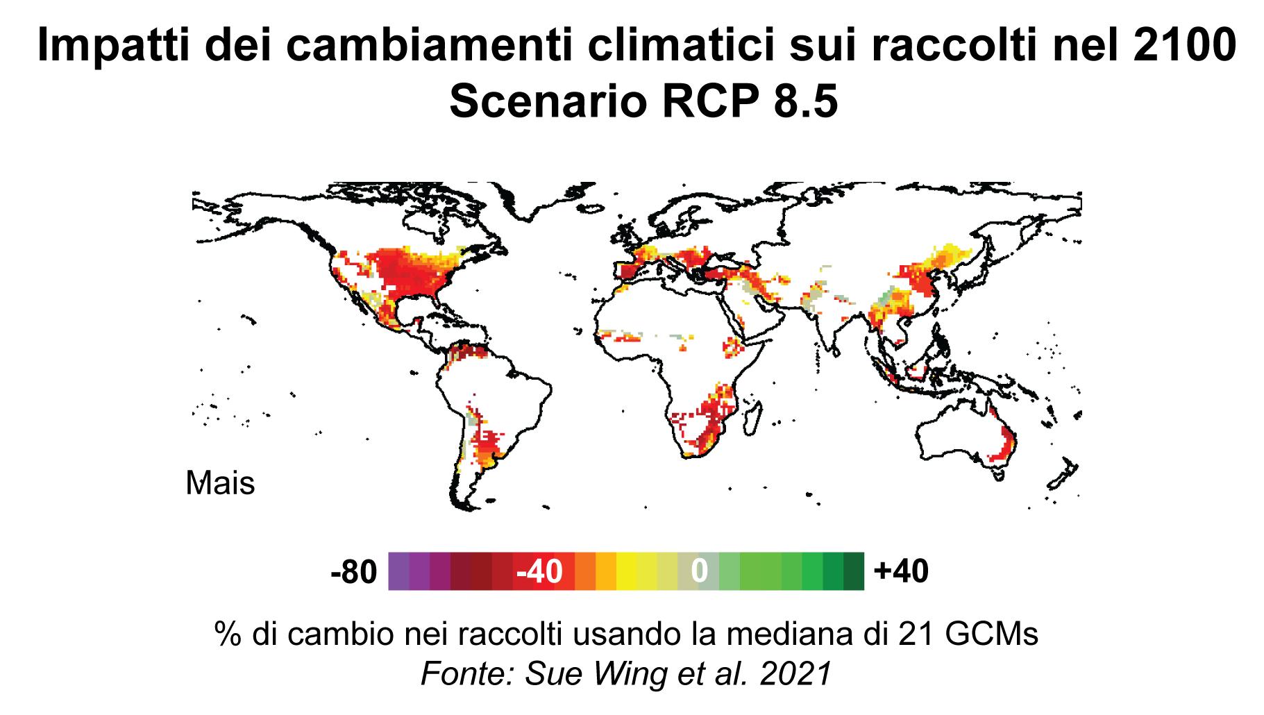 impactos das mudanças climáticas nas safras agrícolas