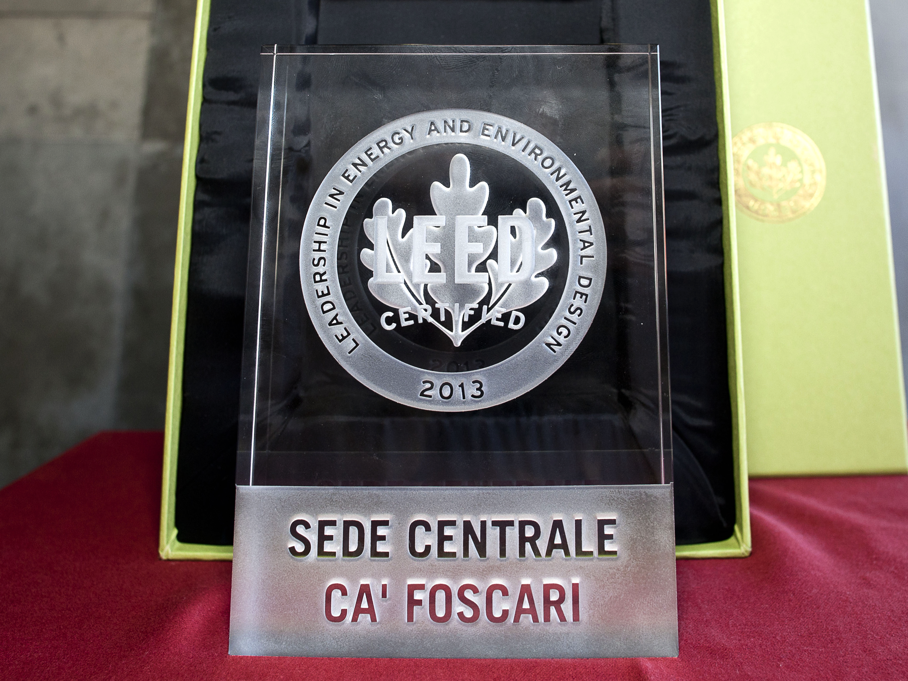 Leed Certification Sustainable Ca Foscari