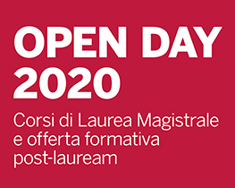 Open Day 2020 - Corsi di laurea magistrale e offerta formativa post-lauream
