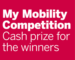 My Mobility Competition Cash prize for the winners