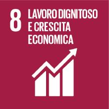 Obiettivo 8: lavoro dignitoso e crescita economica