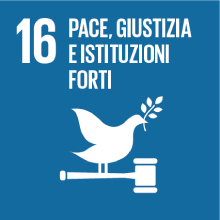 Obiettivo 16: pace, giustizia e istituzioni forti